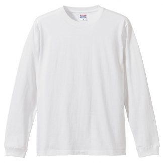 5.6オンス ロングスリーブ Tシャツ(1.6インチリブ)